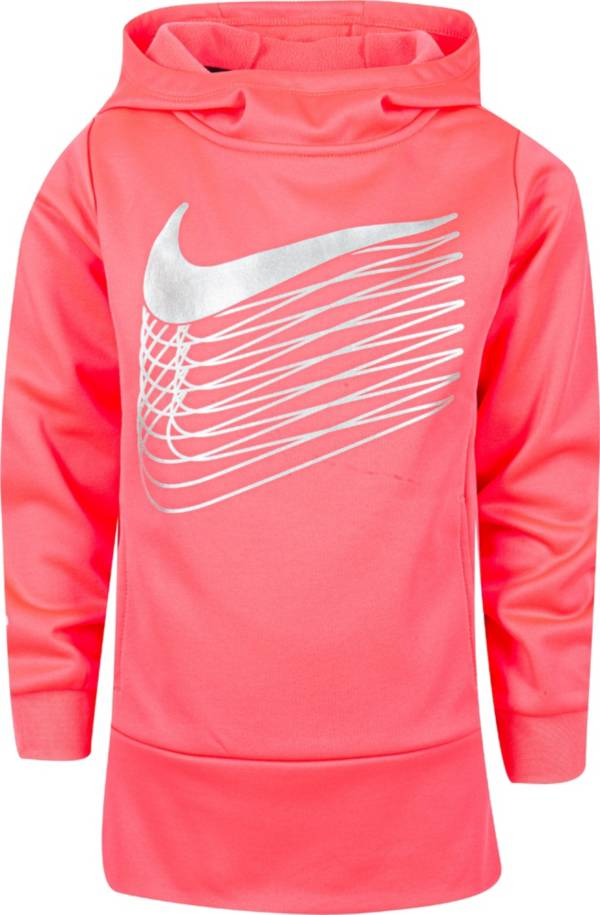 Nike Little Girls' Therma Fleece Tunic Hoodie product image