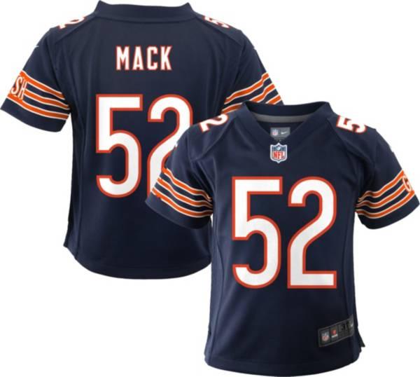Nike Toddler Chicago Bears Khalil Mack #52 Navy Game Jersey product image