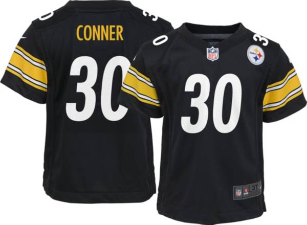 Nike Toddler Pittsburgh Steelers James Conner #30 Black Game Jersey product image