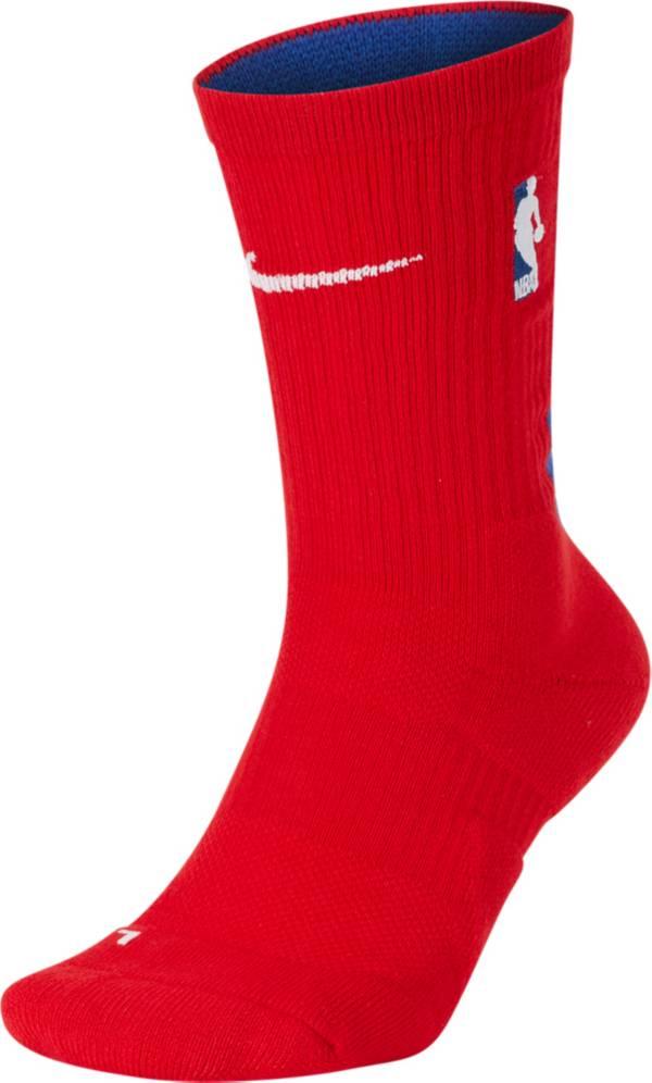 Nike Detroit Pistons Elite Crew Socks product image