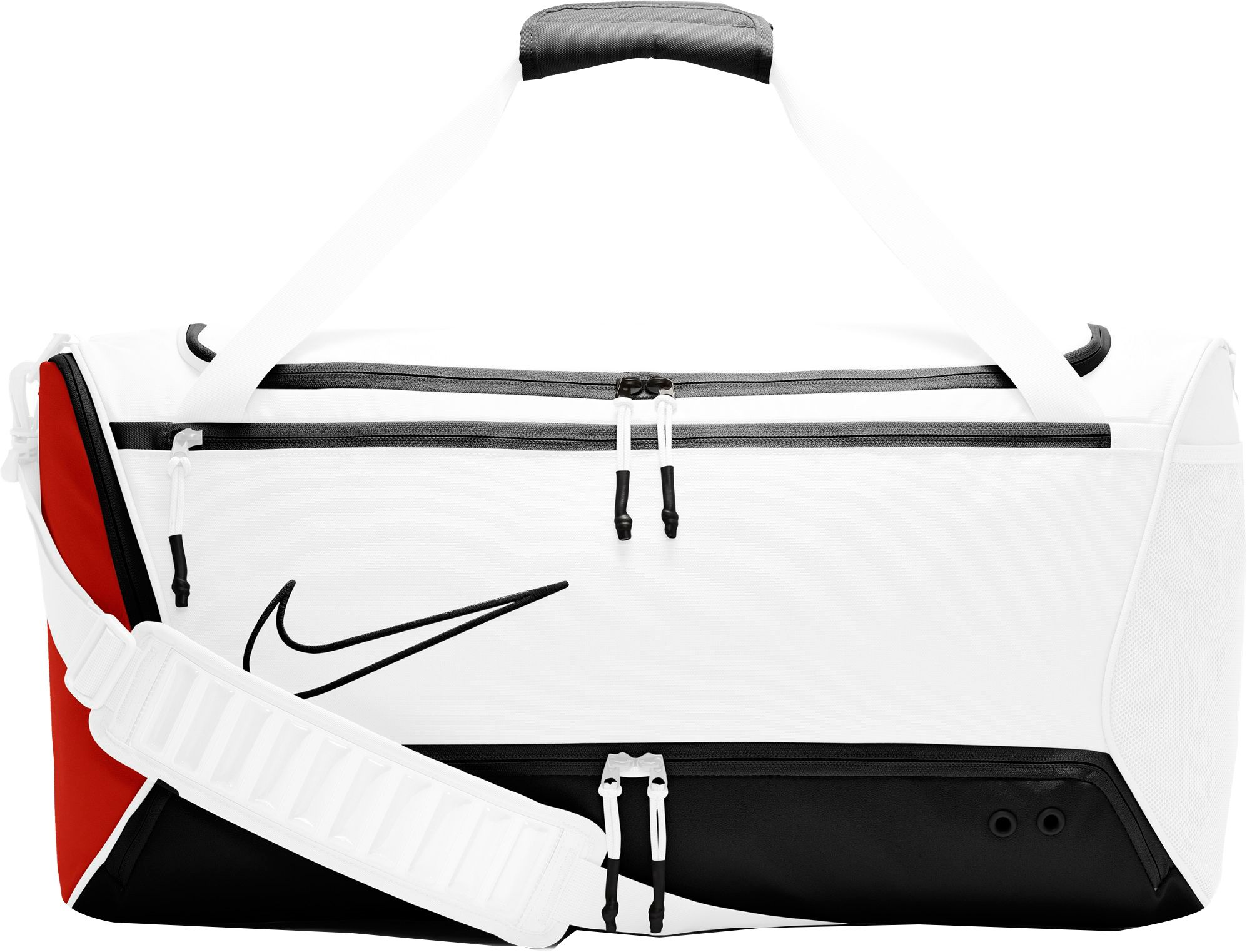 nike bag white