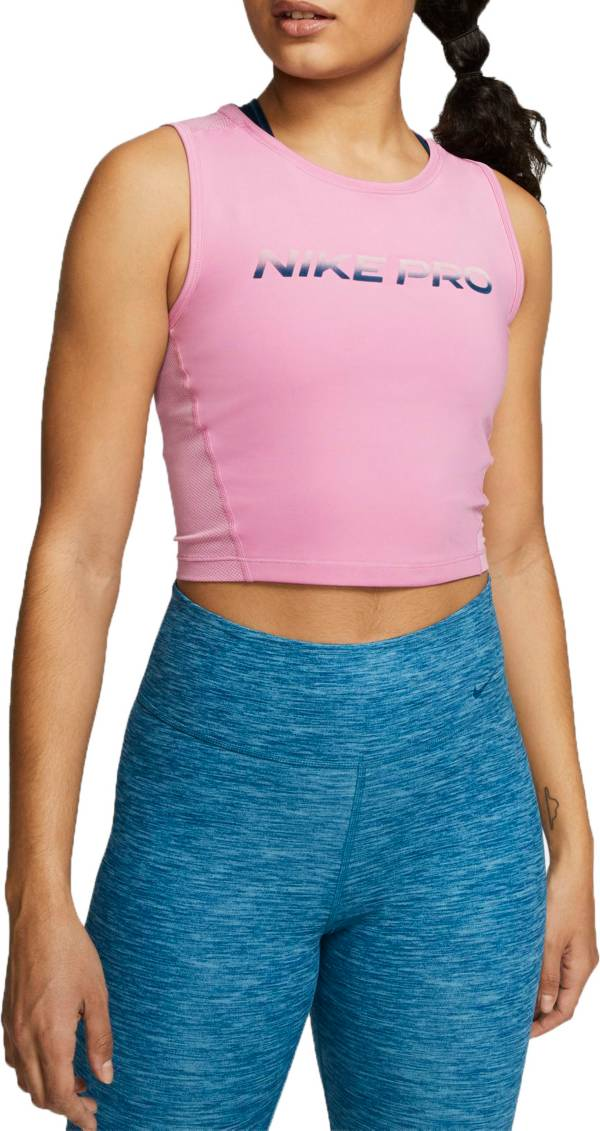 Nike Women's Pro Breathable Cropped Tank Top product image