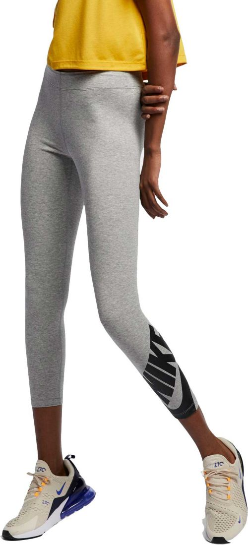 Grey Qualified More Mile Heather Womens Fitness Pants Women's Clothing Activewear