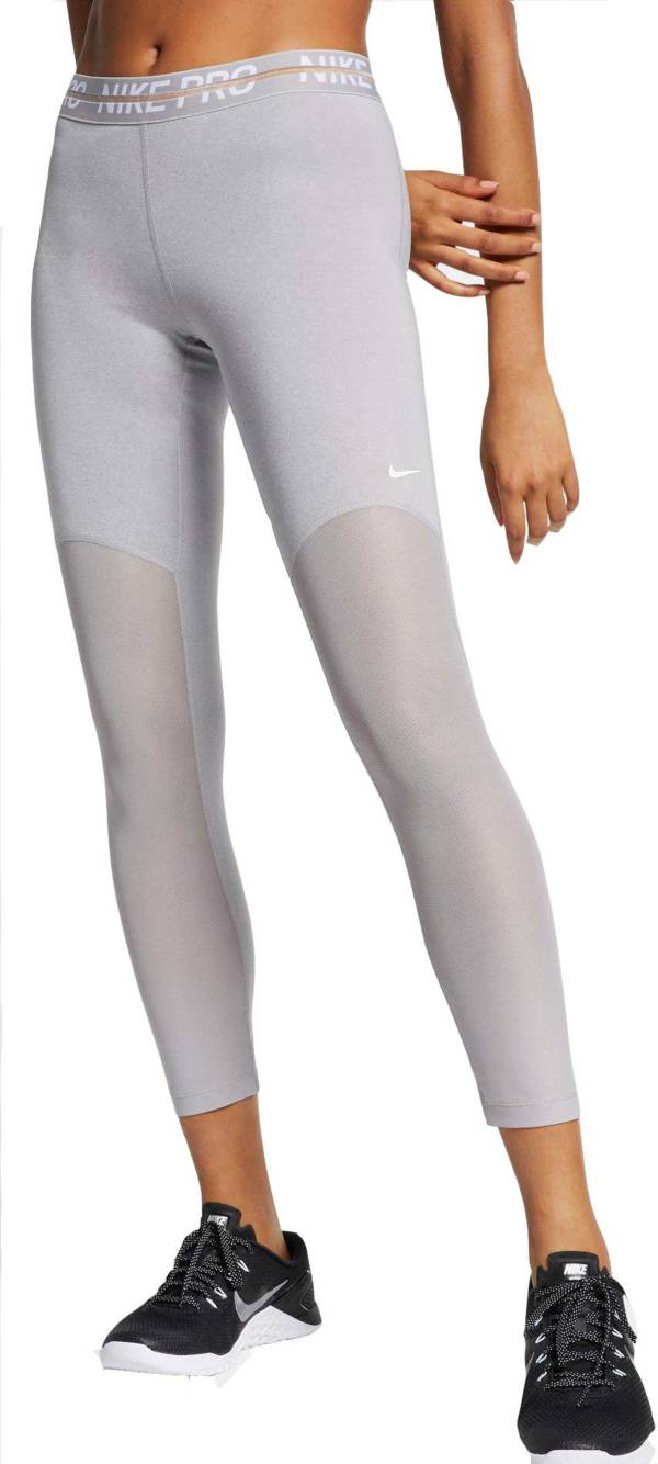 Women's Nike Pro Heatherized 7/8 Leggings product image