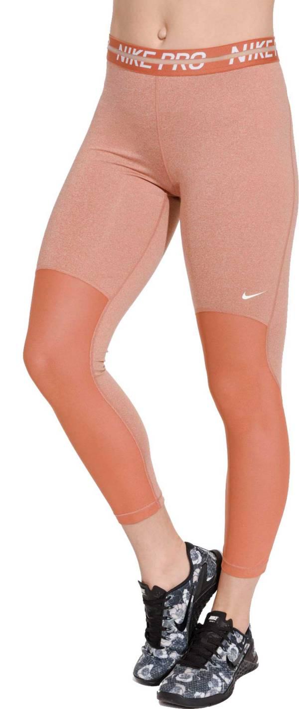Women's Nike Pro Heatherized 7/8 Leggings product image