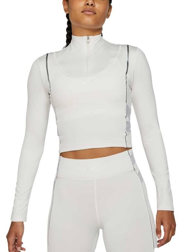 Nike Pro Women's HyperWarm ½ Zip Long Sleeve Shirt product image