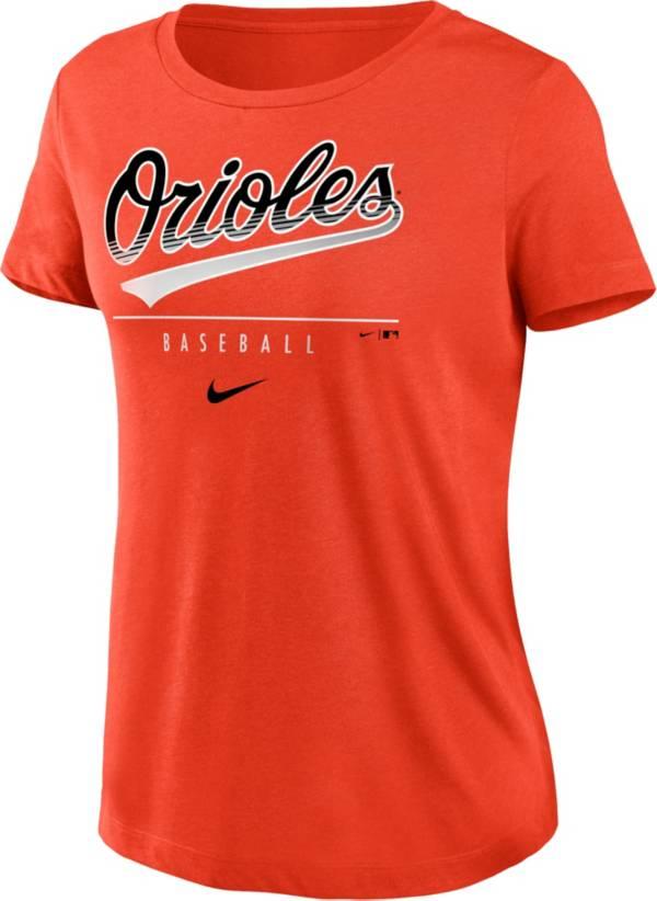 Nike Women's Baltimore Orioles Orange Essential T-Shirt product image