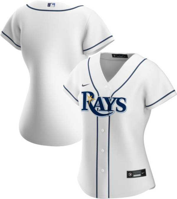 Nike Women's Replica Tampa Bay Rays Cool Base White Jersey product image