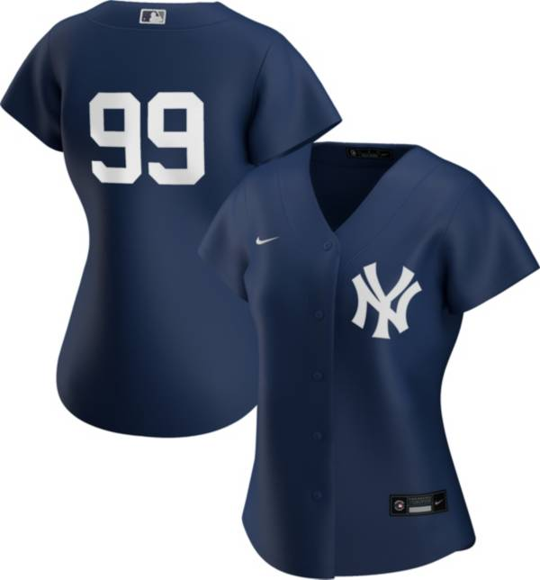 Nike Women's Replica New York Yankees Aaron Judge #99 Cool Base Navy Jersey product image