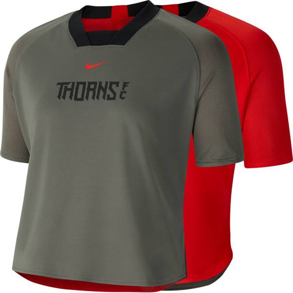 Nike Women's Portland Thorns FC Soccer Reversible Crop Top product image