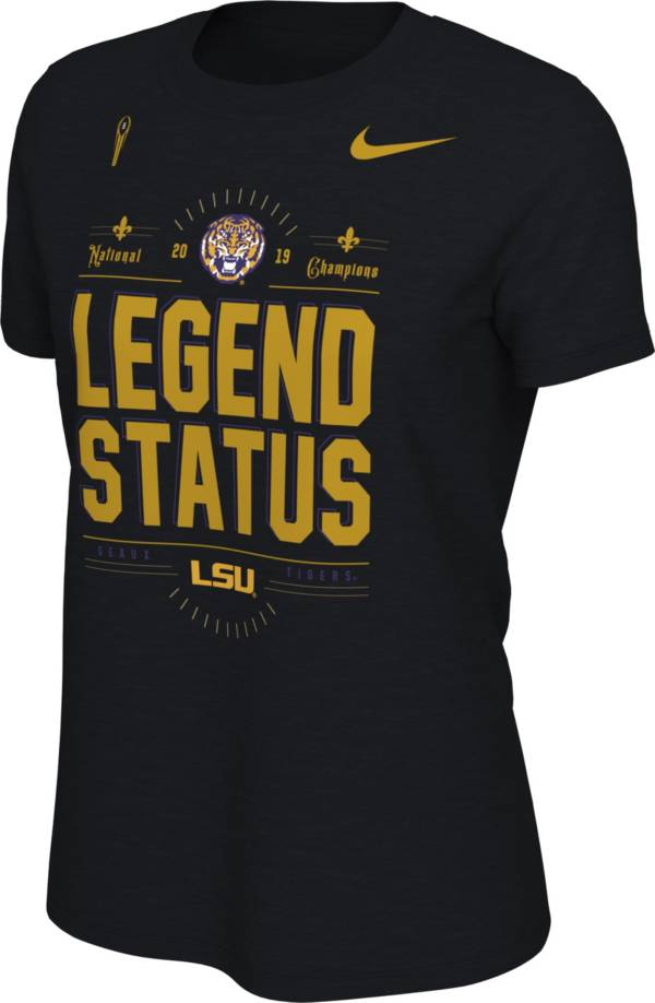 Nike Women's 2019 National Champions LSU Tigers Locker Room T-Shirt product image