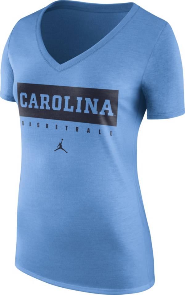 Jordan Women's North Carolina Tar Heels Carolina Blue Basketball Legend Practice T-Shirt product image
