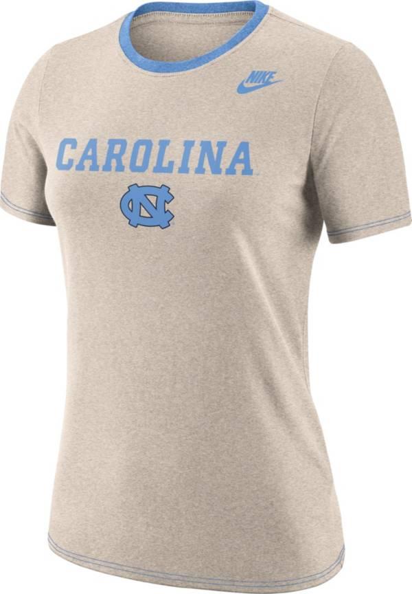 Nike Women's North Carolina Tar Heels Oatmeal Dry Crew Neck T-Shirt product image