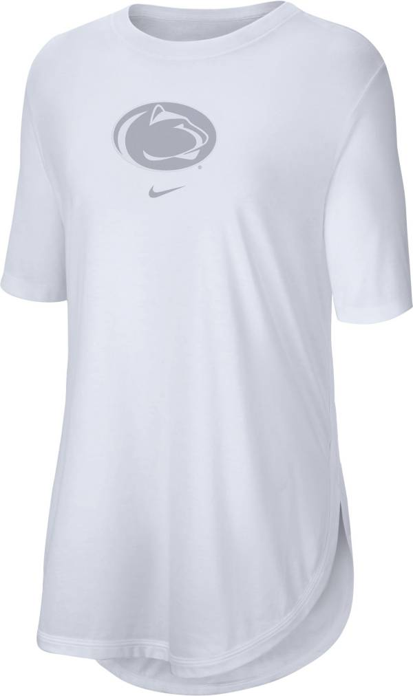 Nike Women's Penn State Nittany Lions Tri-Blend Weekend White T-Shirt product image