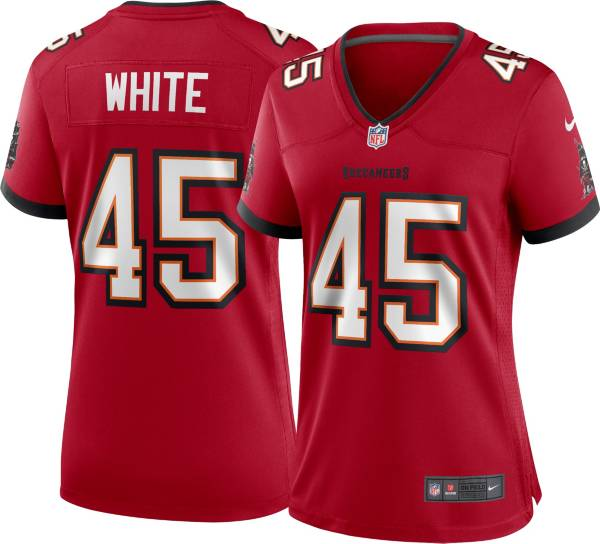 Nike Women's Tampa Bay Buccaneers Devin White #45 Red Game Jersey product image