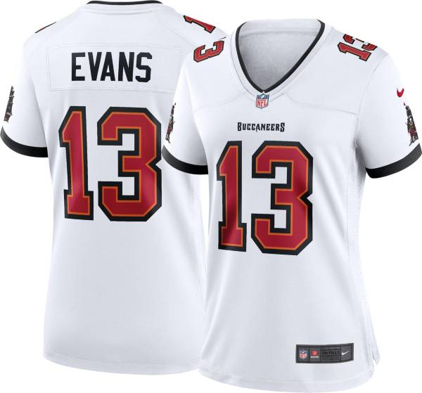 Nike Women's Tampa Bay Buccaneers Mike Evans #13 Away White Game Jersey product image