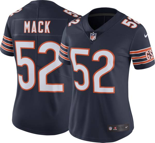 Nike Women's Chicago Bears Khalil Mack #52 Navy Limited Jersey product image