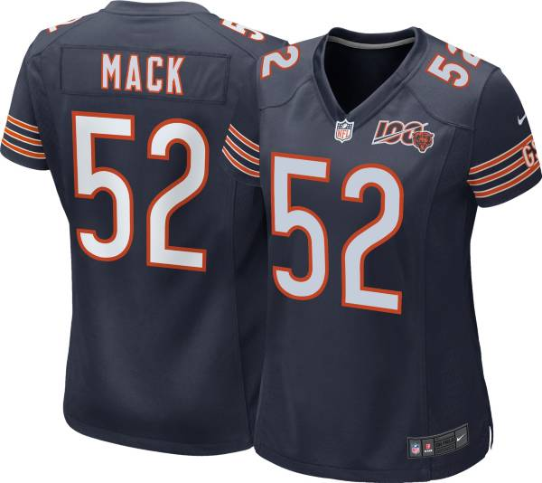 Nike Women's 100th Home Game Jersey Chicago Bears Khalil Mack #52 product image