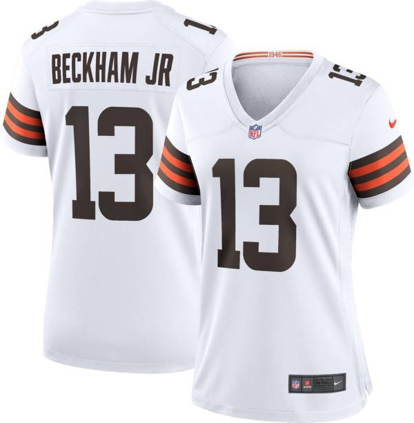 Nike Women's Cleveland Browns Odell Beckham Jr. #13 White Game Jersey product image