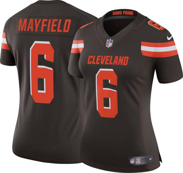 Nike Women's Home Limited Jersey Cleveland Browns Baker Mayfield #6 product image