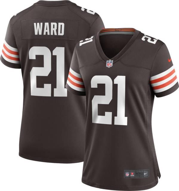 cleveland browns denzel ward jersey
