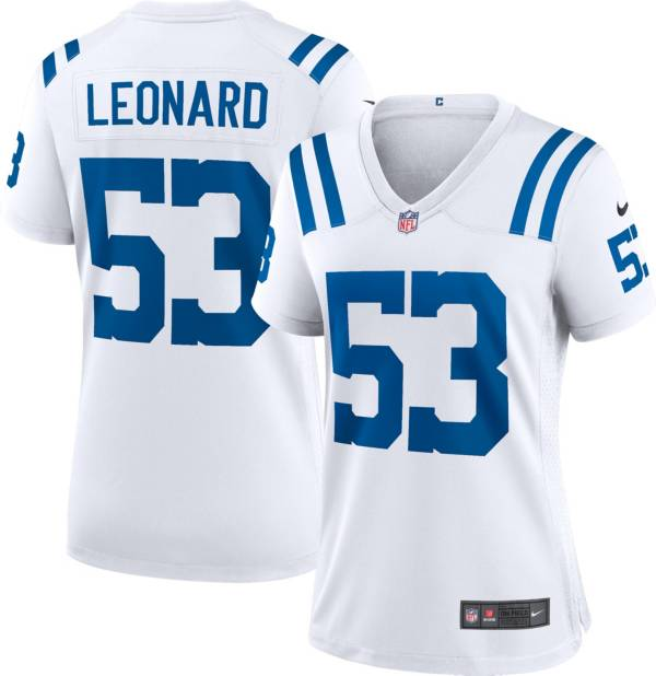 Nike Women's Indianapolis Colts Darius Leonard #53 White Game Jersey product image