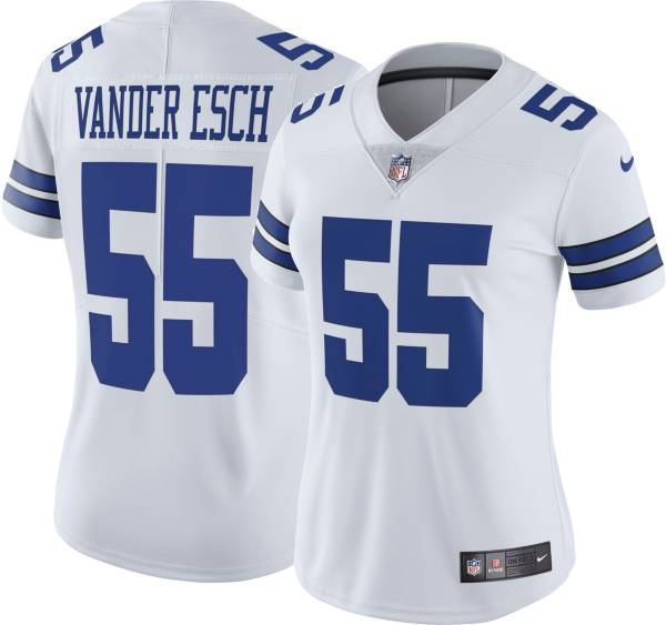 Nike Women's Dallas Cowboys Leighton Vander Esch #55 White Limited Jersey product image