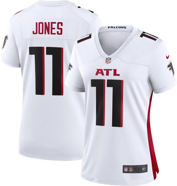 Nike Women's Atlanta Falcons Julio Jones #11 White Game Jersey product image
