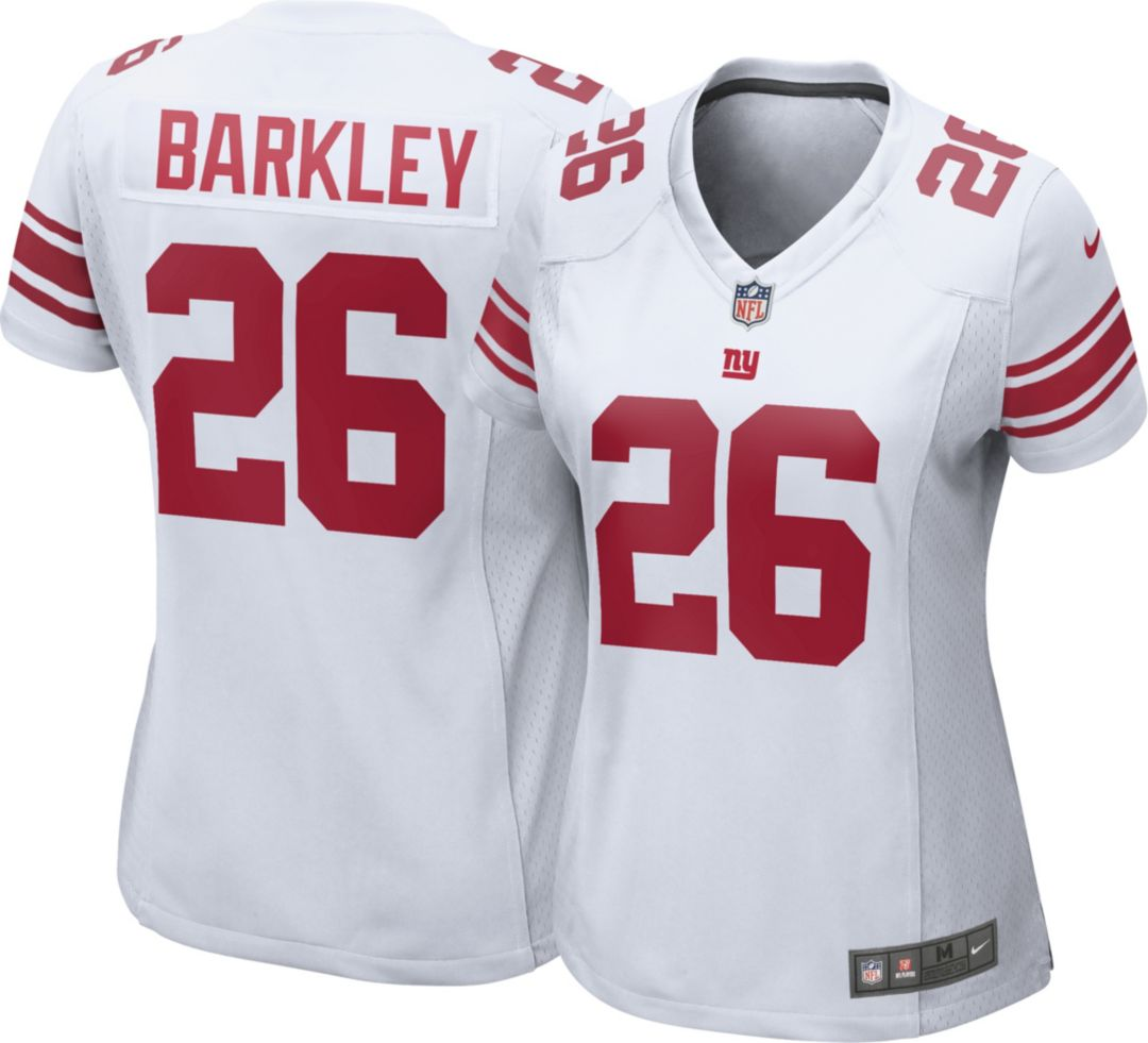 ceef2dad30903 Nike Women's Away Game Jersey New York Giants Saquon Barkley #26.  noImageFound. Previous