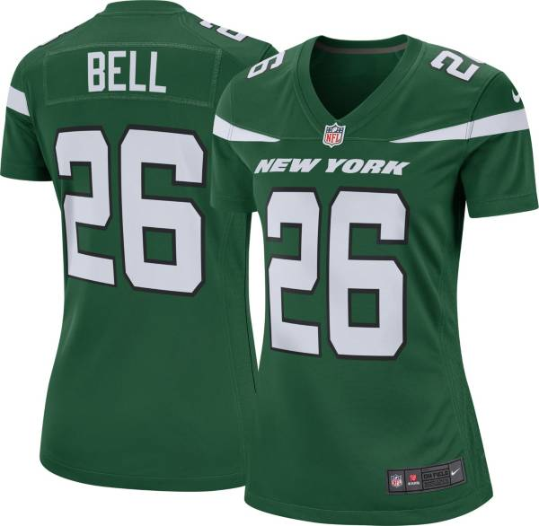 Nike Women's New York Jets Le'Veon Bell #26 Green Game Jersey product image