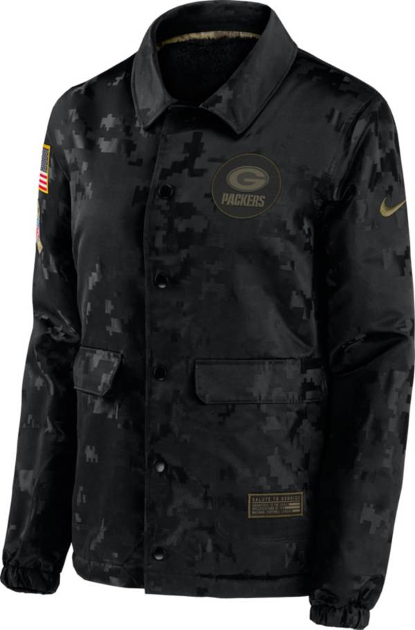 Nike Women's Salute to Service Green Bay Packers Black Jacket product image
