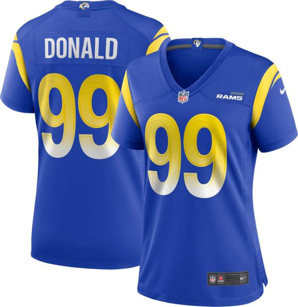 Nike Women's Los Angeles Rams Aaron Donald #99 Royal Game Jersey product image
