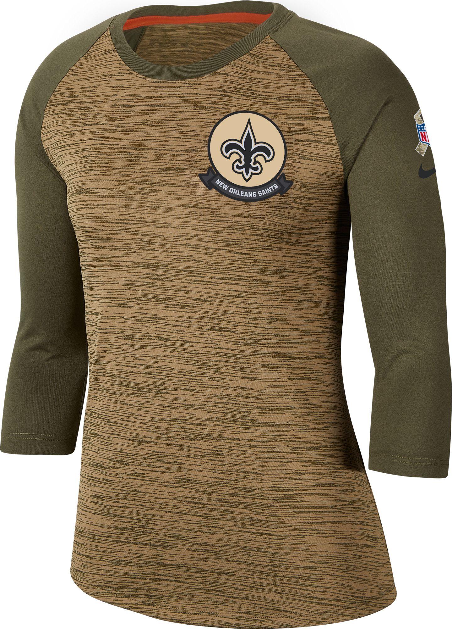 New Orleans Saints Dri-FIT Beige