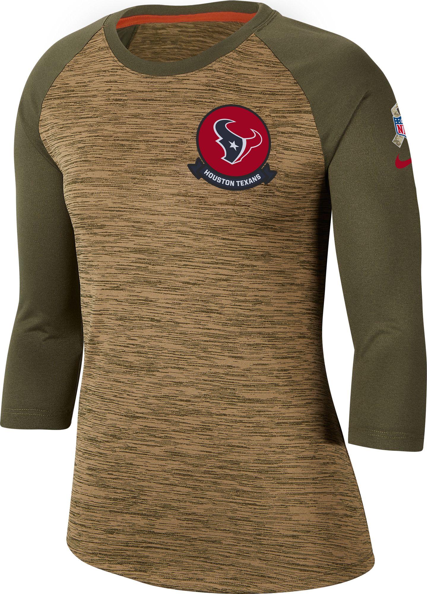 texans salute to service shirt