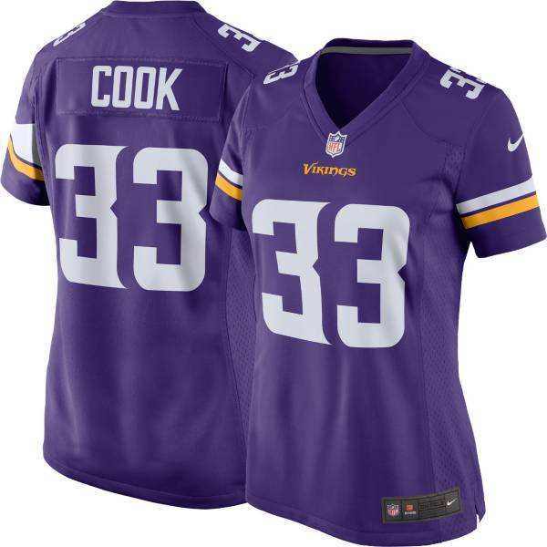 Nike Women's Minnesota Vikings Dalvin Cook #33 Purple Game Jersey product image