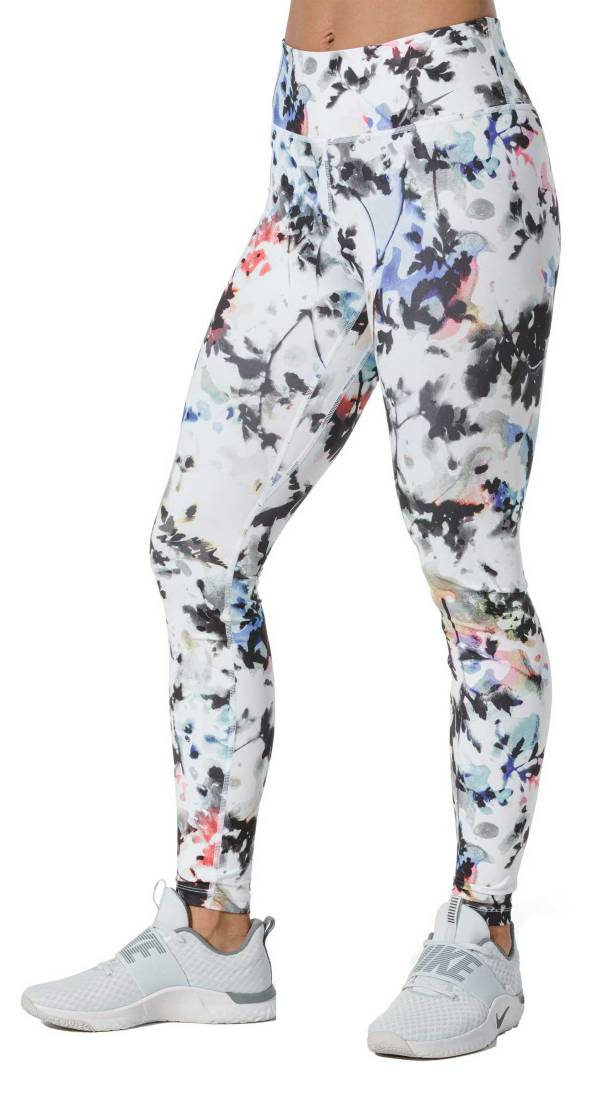 Nike One Women's Printed Washed Floral Tights product image
