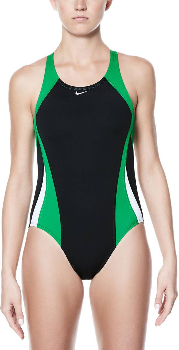 Nike Women's Poly Color Surge Fast Back One Piece Swimsuit product image