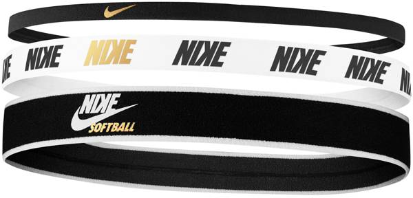 Nike Mixed Width Softball Headbands - 3 Pack product image