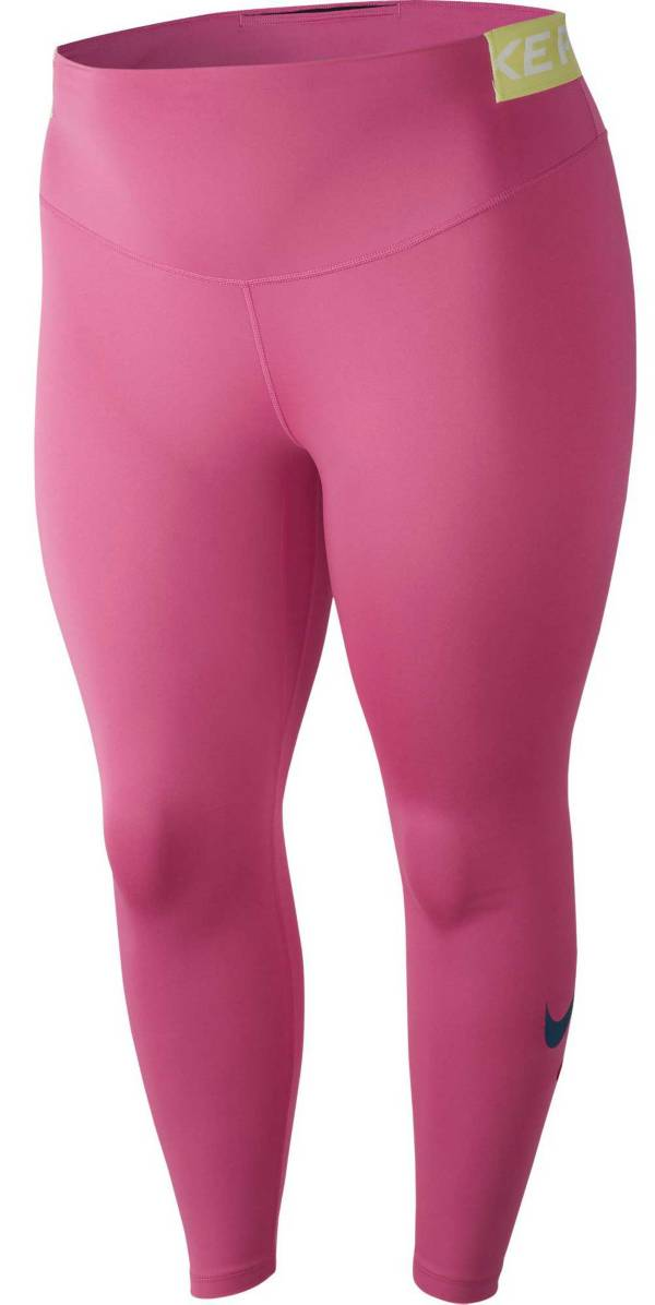 Nike One Women's Plus Size Just Do It Tights product image