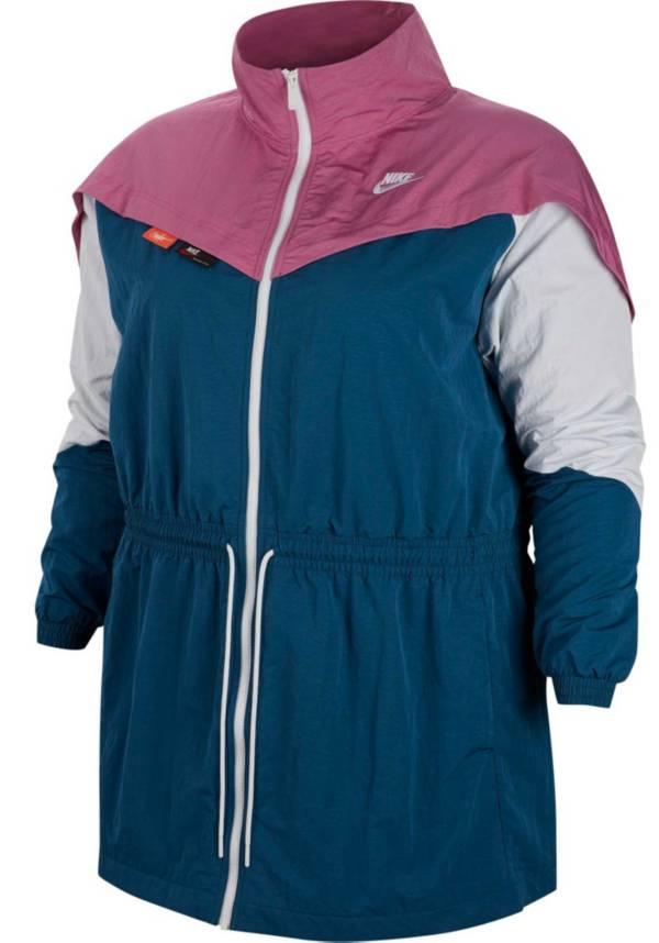 Nike Sportswear Women's Plus Size Woven Track Jacket product image