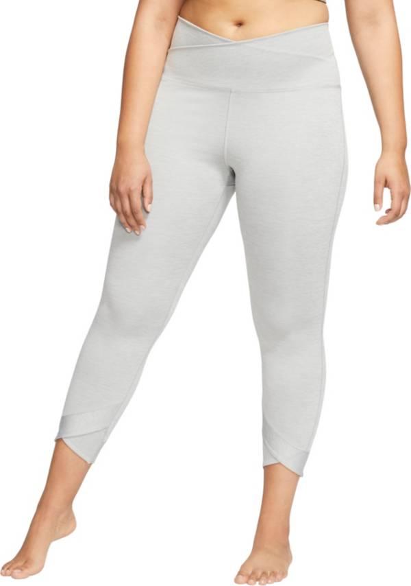 Nike Women's Plus Size Yoga Wrap 7/8 Tights product image
