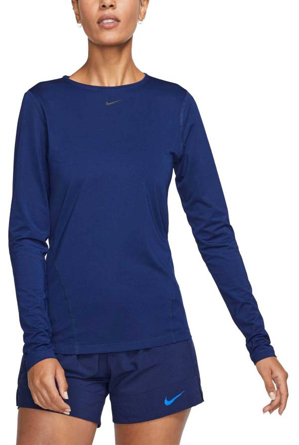 Nike Women's Pro Mesh Long Sleeve Shirt product image
