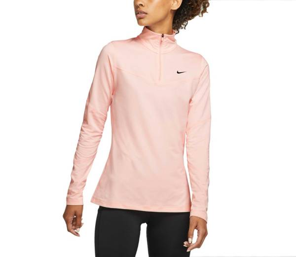 Desarmamiento Goneryl Compadecerse  Nike Women's Pro Warm 1/2 Zip Long Sleeve Shirt | DICK'S Sporting Goods