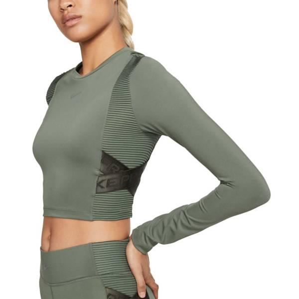 Nike Women's AeroAdapt Pro Cropped Long Sleeve Shirt product image