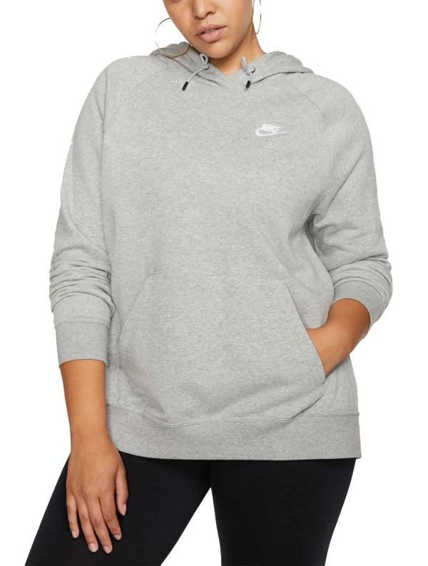 Nike Women's Plus Size Sportswear Essential  Fleece Pullover Hoodie product image