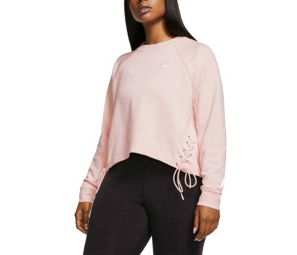 Nike Women's Plus Size Sportswear Essential Fleece Crewneck Sweatshirt product image