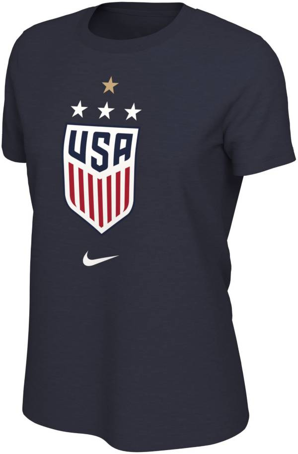 Nike Women's 2019 FIFA Women's World Cup Champions USA Soccer 4-Star Navy T-Shirt product image