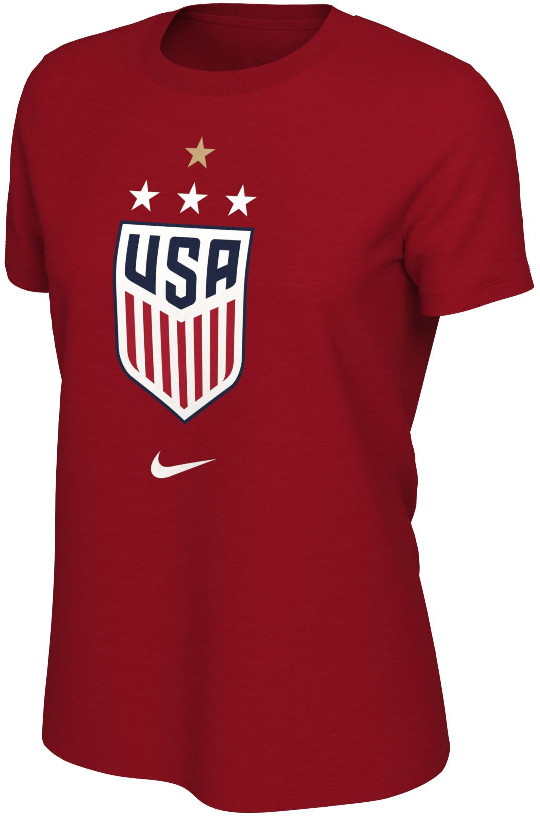 05c84dfe350c Nike Women's 2019 FIFA Women's World Cup Champions USA Soccer 4-Star Red T-Shirt.  noImageFound. Previous