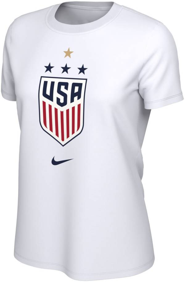 Nike Women's 2019 FIFA Women's World Cup Champions USA Soccer 4-Star White T-Shirt product image