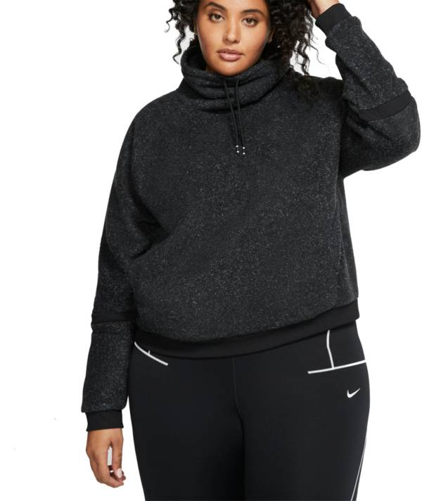 Nike Women's Plus Size Therma Fleece Cowl Sweatshirt product image